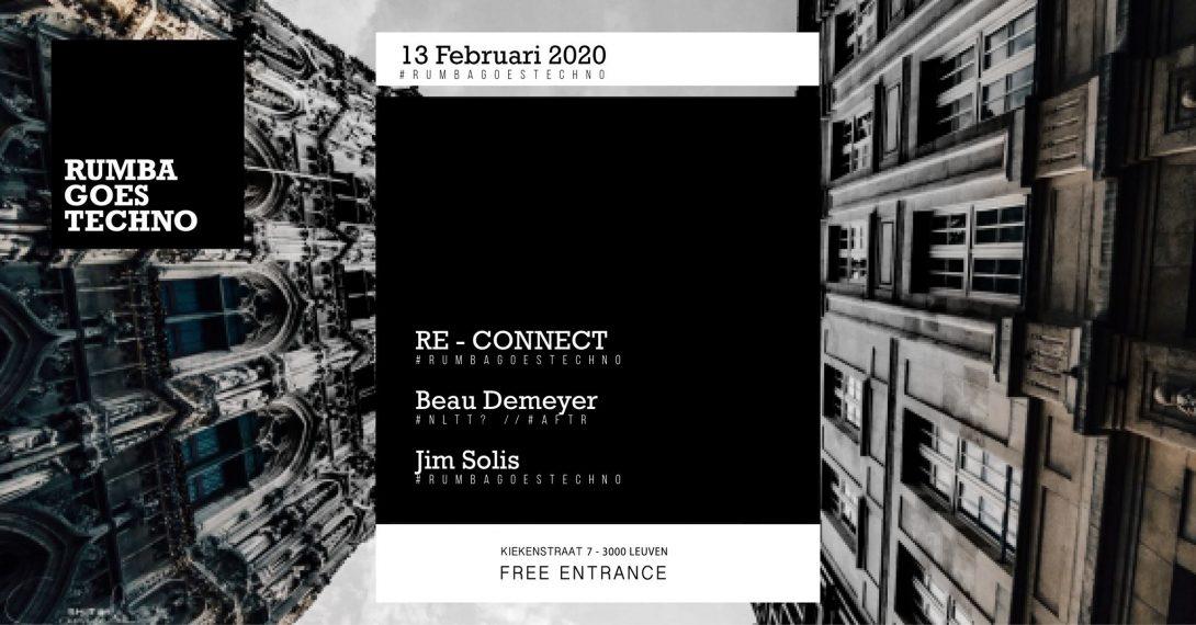 Flyer - 2020-Rumba goes techno feb 13